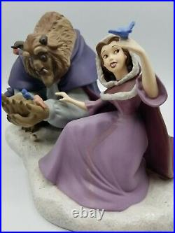 WDCC Beauty and the Beast She Didn't Shudder at my Paw with COA