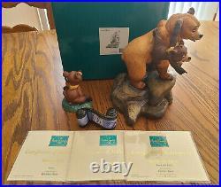 WDCC Brother Bear Set Kenai & Koda (LE 92/2000), Koda + Opening Title