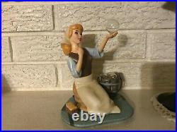 WDCC CINDERELLA They Can't Stop Me From Dreaming COA BOX WALT DISNEY Mint