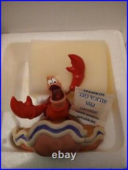 WDCC Calypso Crustacean Sebastian from Disney The Little Mermaid with Box