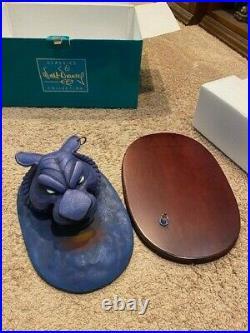 WDCC Cave of Wonders Aladdin Miniature &base Who Disturbs My Slumber set NIB