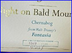 WDCC Chernabog Night on Bald Mountain Fantasia Limited Edition #1,207/1,500