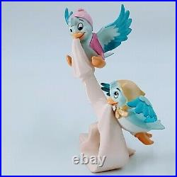 WDCC Cinderella Birds We'll Tie a Sash Around It with Box and COA. Pre-owned