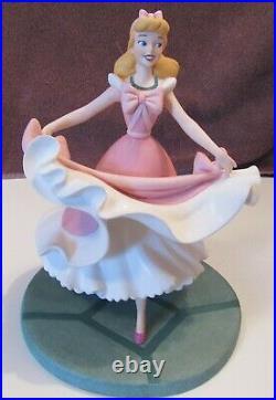 WDCC Disney Cinderella Figure Isn't it Lovely Do you like it Pink Dress RARE