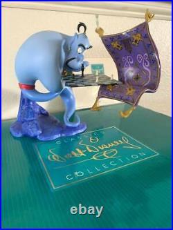 WDCC Disney Classics ALADDIN GENIE I'M LOSING TO A RUG -Box & COA