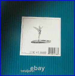 WDCC Disney Classics Peter Pan Tinker Bell Pauses to Reflect New in Box with COA