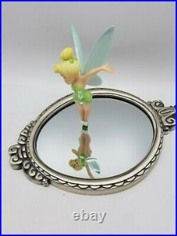 WDCC Disney Classics Peter Pan Tinker Bell Pauses to Reflect New w box & coa