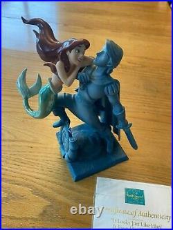 WDCC Disney IT LOOKS JUST LIKE HIM Ariel Little Mermaid Ltd Ed COA (0521J)