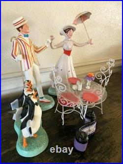 WDCC Disney MARY POPPINS SET Of 5-Used-Excellent Condition- COA'S