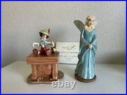 WDCC Disney Pinocchio And Blue Fairy The Gift of Life is Thine Box COA Rare