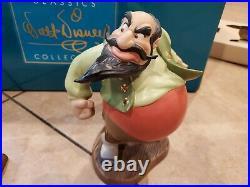 WDCC Disney Pinocchio Stromboli You Will Make Lots Of Money Rare Figurine Lot