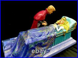 WDCC Disney Sleeping Beauty Loves First Kiss Princess Aurora And Prince Philip