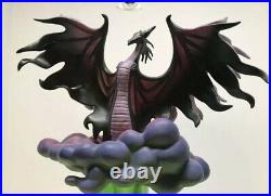 WDCC Disney Sleeping Beauty Maleficent Dragon Evil Eruption LE 500 RARE