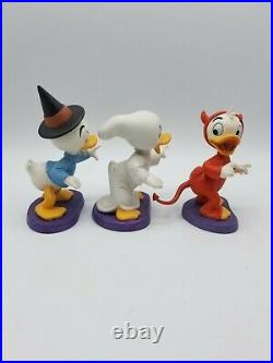 WDCC Disney Trick or Treat Halloween Complete Set with COA's