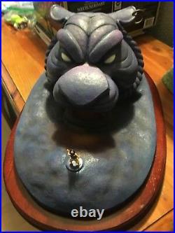WDCC Disney's Aladdin The Cave of Wonders Statue Who Disturbs My Slumber Tiger