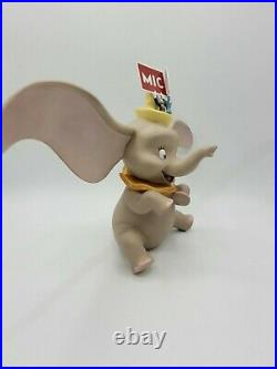 WDCC Dumbo with Timothy Mouse and Jiminy Cricket Spell It Out with COA, No Box