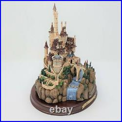 WDCC Enchanted Places Beauty & The Beast The Beasts Castle With Deed & COA