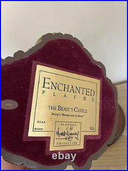 WDCC Enchanted Places Beauty & The beast The Beast Castle withBox & COA
