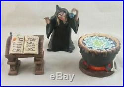 WDCC Evil to the Core Hag Witch from Disney's Snow White in Box with COA