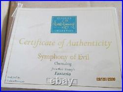 WDCC Fantasia Chernabog Symphony of Evil LIMITED Edition 761/1000