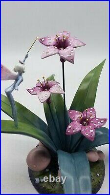 WDCC Fantasia Dew Drop Fairy Celebration of Spring, Swarovski Crystal, Box, COA
