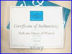 WDCC Fantasia Frost Fairies Delicate Dance of Winter with Box & COA 360/500