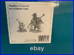 WDCC Headless horseman & Ichabod limited edition 551 of 3500 DAMAGED