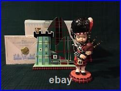 WDCC It's A Small World Scotland Highland Laddie + Box & COA