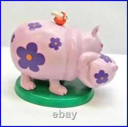 WDCC It's a small world Jungle Blossom Africa Hippo