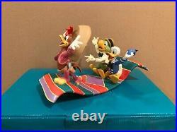 WDCC Jose Carioca, Donald Duck and Panchito Airborne Amigos + Box/COA