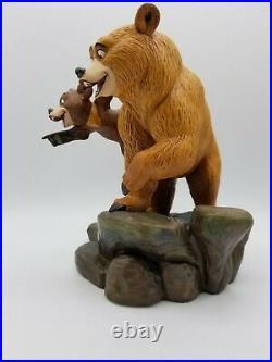 WDCC Kenai & Koda Brotherly Time Disney's Brother Bear w COA