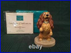 WDCC Lady and the Tramp Lady Warm Welcome + Box & COA