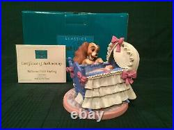 WDCC Lady and the Tramp Lady and Cradle Welcome Little Darling + Box & COA