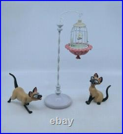 WDCC Lady and the Tramp Si & Am WE ARE SIAMESE IF YOU PLEASE / DON'T PLEASE