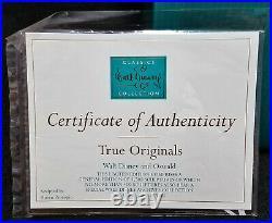 WDCC Ltd Ed 1500 True Originals WALT DISNEY & OSWALD Lucky Rabbit with Box & COA