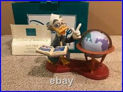 WDCC Ludwig Von Drake Didactic Duck + Box & COA