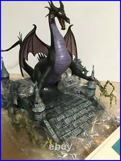 WDCC Maleficent as The DRAGON #329 Now You Shall Deal With Me NEW COA