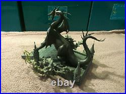 WDCC Maleficent as The Dragon And Now You Shall Deal With Me + Box & COA