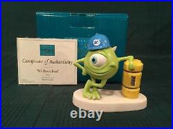 WDCC Monsters Inc Mike It's Been Fun + Box & COA