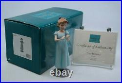 WDCC Peter Pan WENDY JOHN MICHAEL NANA The Darling Nursery Scene MIB with COA