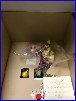 WDCC Peter Pan and The Mermaids Spinning a Spellbinding Story NIB MINT WithCOA