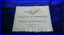 WDCC Peter Pan & the Mermaids Spinning a Spellbinding Story MIB withCOA