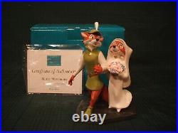 WDCC Robin Hood & Maid Marian Merry Matrimony + Box & COA
