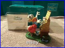 WDCC Scrooge McDuck Cash Register Concerto + Box/COA