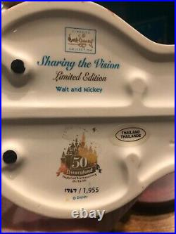 WDCC Sharing the Vision Walt and Mickey 1955-2005