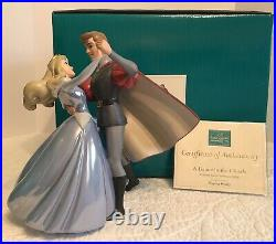 WDCC Sleeping Beauty A Dance In The Clouds Blue Dress MIB with COA