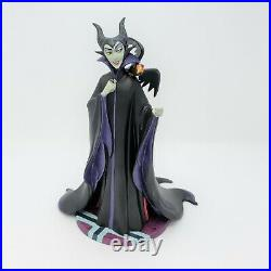 WDCC Sleeping Beauty Maleficent Evil Enchantress Sculpture + Rare Dealer Base