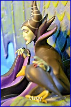 WDCC Sleeping Beauty Maleficent Sinister Sorceress Maleficent & Diablo 116/750
