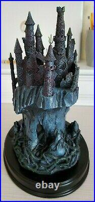 WDCC Sleeping Beauty Maleficent's Castle Forbidden Fortress + Box & COA