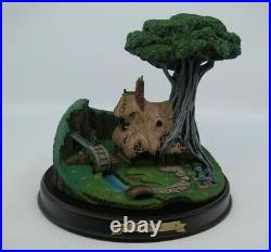 WDCC Sleeping Beauty WOODCUTTER'S COTTAGE Enchanted Places with Box & COA